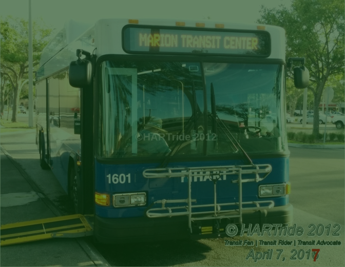 HART & HRT Service Changes – Effective 10/08/17