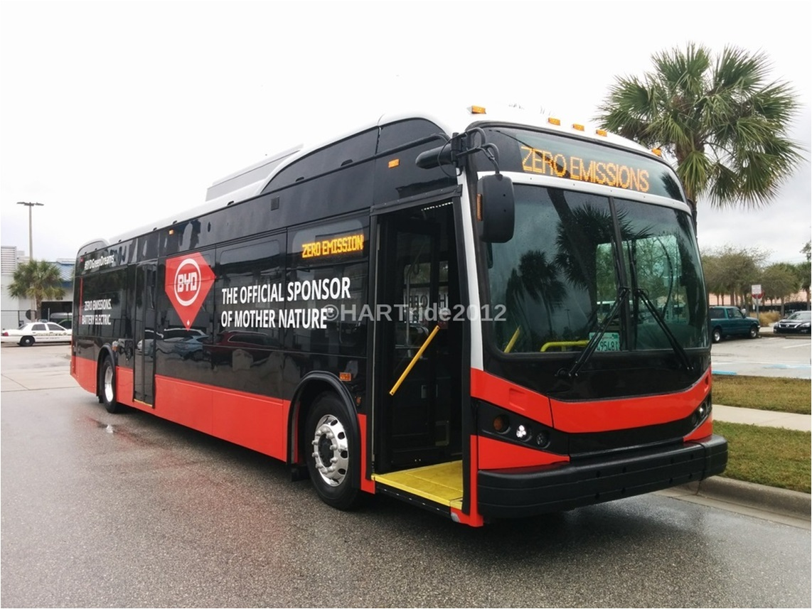 PSTA, four other FL transit agencies, snag FTA Low-No Grants