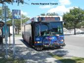 #1026 is ready for departure at Britton Plaza, Route 19. Photo Credit: Carlos A.
