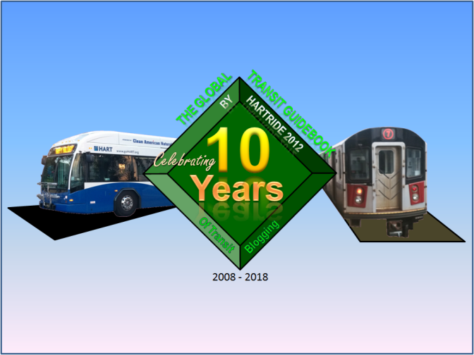 Celebrating 10 Years of Transit Blogging