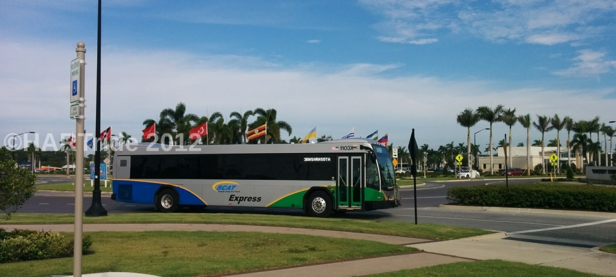 Sarasota County Area Transit sells express bus fleet to Hillsborough Area Regional Transit