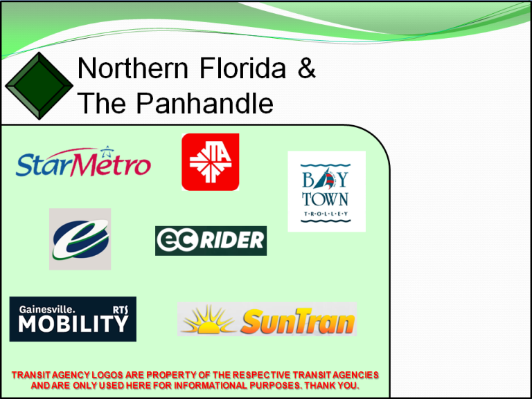 Northern Florida and the Panhandle – The Global Transit Guidebook by